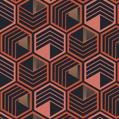 "Aline Pellegrini no Instagram: ""Colmeia. Coming soon on @patternbank ✌ . . #newonpatternbank #patternbank #surfacedesign #surfacedesigns #textile #textileartist #patterns…"""