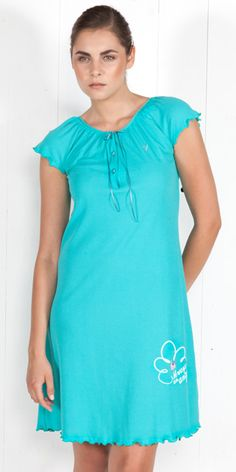 Nightgown Interlock 1230 | Homewear| Vamp!