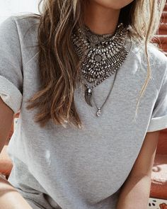 Add a little bling to your Cara Sweatshirt. ✨✨✨ | shopsincerelyjules.com