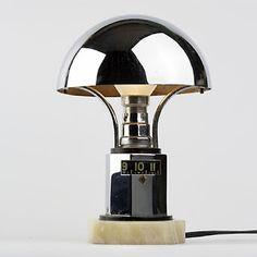 1930s digital art deco lamp