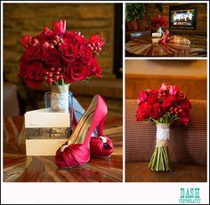 Statice Floral Design-Estes park Resort Wedding; photo by Dash Photography