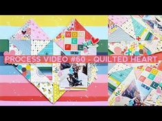 (1164) Process Video #60 - Quilted Heart - YouTube