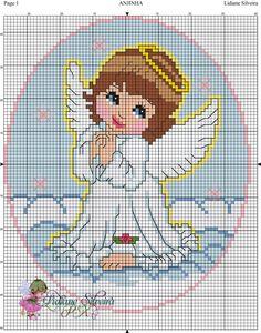 Cross Stitch Angels, Cross Stitch For Kids, Cross Stitch Bookmarks, Cross Stitch Cards, Cross Stitching, Cross Patterns, Counted Cross Stitch Patterns, Cross Stitch Designs, Cross Stitch Embroidery