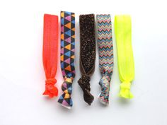 Elastic Hair ties Ponytail Holder Fashion Accessories by TheLUX22  #foe #elastichairties #etsy #falltrends #hairaccessories #hairties