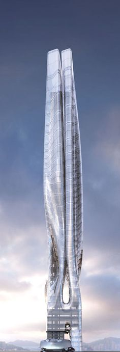 Office Tower and Exhibition Center, Hong Kong, China by Michael Arellanes II MA2 :: proposal