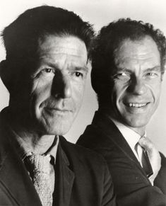 John Cage (1912 – 1992) was an American composer, music theorist, writer, and artist. He was also instrumental in the development of modern dance, mostly through his association with choreographer Merce Cunningham (1919 – 2009), who was also Cage's romantic partner for most of their lives. On August 11, 1992, while preparing evening tea for himself and Cunningham, Cage suffered a stroke. He died the day after. Merce Cunningham lived another 17 years, dying of natural causes in July 2009.