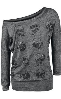 Skull Top by Rock Rebel ~ EMP