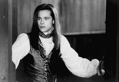 Brad Pitt as Louis....LOVE the books...hated Tom Cruise as Lestat...and Louis was not necessarily my favorite character; but, Brad Pitt with the long hair...and fangs of course....nice