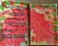 Week 42 Planner pages.