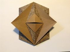 Origami Tato Flat Box