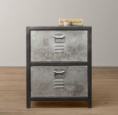 Fancy - Vintage Locker Nightstand | Nightstands & Side Tables | Restoration  Hardware Baby & Child