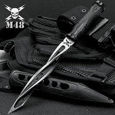 M48 Cyclone Fixed Blade Knife M48