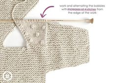 How do I create a knitted kimono baby jacket? , How to make a Knitted Kimono Baby Jacket – Free knitting Pattern & tutorial , Breien Source by mp_bochove Baby Cardigan Knitting Pattern Free, Knitted Baby Cardigan, Knit Baby Sweaters, Baby Knitting Patterns, Baby Patterns, Crochet Jacket, Baby Knits, Vogue Patterns, Vintage Patterns