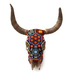 OUR EXQUISITE CORPSE beaded bull