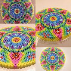 Mandala hama beads