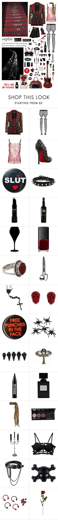 """With me you can die and than born again"" by nothingisnormal ❤ liked on Polyvore featuring Paule Ka, Junya Watanabe, Bohemian Society, Philosophy di Lorenzo Serafini, Christian Louboutin, Hollywood Mirror, Qualia, NARS Cosmetics, NOVICA and Tarina Tarantino"