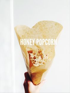 summer harms: salty-sweet honey popcorn (dairy free)