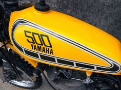 Vintage Motor Cross from the one and only Bratstyle Motos Yamaha, Yamaha Motorcycles, Motocross Bikes, Sport Bikes, Xt 600 Scrambler, Cafe Racing, Auto Racing, Drag Racing, Biker Photography