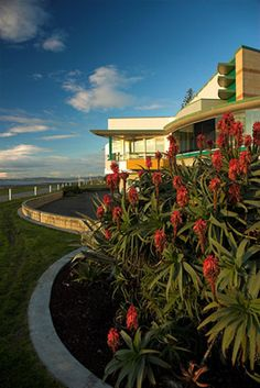 #New Zealand - Napier - Art-Deco...War Memorial Function Centre