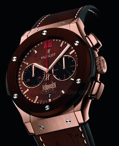 Hublot [NEW+LTD] Classic Fusion Forbiden X King Gold Brown Ceramic 521.OC.0589.VR.OPX14 (Retail:EUR 45.500) ~   price on request
