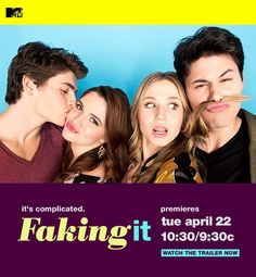 Faking It (MTV on Tuesday nights). The best lesbian comedy on TV