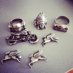 .@Alicia Hanson (Alicia Hanson) 's Instagram photos | Hi Octane Jewelry | Indian Motorcycle