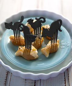 Loving this Black Cat Food Pick - Set of 32 on #zulily! #zulilyfinds