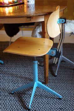 Herra Puukenkä ja Neiti Räsymatto Drafting Desk, Stool, House Styles, Furniture, Home Decor, Decoration Home, Writing Desk, Room Decor, Home Furnishings