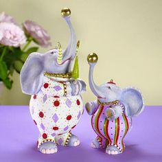 Eleanor & Anika Elephant are just one Mother-Daughter duo in our Jambo collection.
