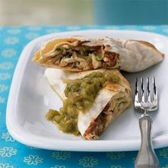 Roast Chicken Chimichangas | MyRecipes.com