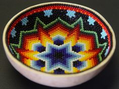 Arte Huichol by edifica, via Flickr