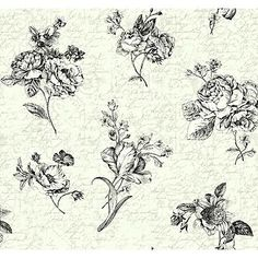 York Wallcoverings Waverly Cottage Picture Perfect Wallpaper