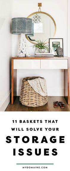 Baskets So Pretty You Won\'t Know They\'re Storage