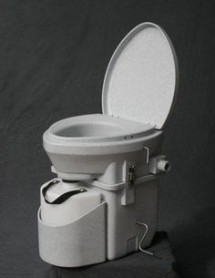 A composting toilet is great for off the grid living and this model works great and is easy to use.