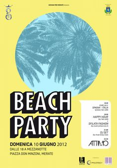 BEACH PARTY: in spiaggia, a Merate!