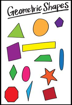 Shape and pattern: I chose this pin because of all the shapes in it Art Classroom Posters, Art Room Posters, Classroom Ideas, Teaching Shapes, Teaching Art, Elements And Principles, Elements Of Art, Art Handouts, Art Cart