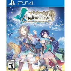 Atelier Firis: The Alchemist of the Mysterious Journey - PlayStation 4