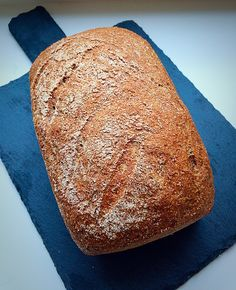 What have I got here for you today? Only a 100% Wholemeal Loaf! Gorgeous, crusty, healthy bread. Perfect for increasing fibre in your diet and keeping you feeling fuller for longer. A completely Wholemeal Loaf is never going to be as light, or rise as much as a Large White Bloomer. This is because the … Continue reading Wholemeal Loaf