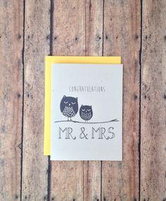 Wedding card congratulations
