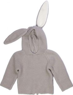 Bunny Hoodie, sweet gift for a little.  #estella #kids #gifts #fashion