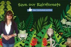 Save Our RainForests!!! Make the earth a better place to live in.!! #kricpy #khera #noise #pollution #earth #stop #Environment #girlchild #save #trees #wildlife #kricpykhera #city #green #clean #rainforests