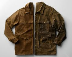 In a world where fashions change daily, it's refreshing to know that the Filson Cruiser remains a popular fashion statement today. Patented in 1914, the jacket is named after its inventor, C.C. Filson. Still manufactured in Seattle, the Filson Cruiser (it's also known as the Alaska Tuxedo), continues to be the company's bestseller