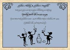 Reception invite - nice wording