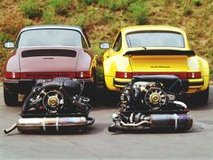 Porsche 911 SC Targa & Turbo Carrera