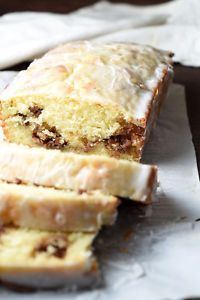 This quick bread is buttery and moist, with a hidden layer of cinnamon and pecans, then topped with a silky sweet glaze. So easy and good!Here is a short list of things I have an absolute weakness for:...
