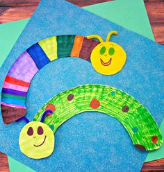 Paper Plate Caterpillars - In The Playroom