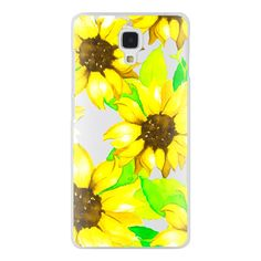 Samsung Galaxy / LG / HTC / Nexus Phone Case - Sunflowers ($30) ❤ liked on Polyvore featuring accessories, tech accessories and android case