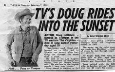 Doug Mcclure, Clint Walker, James Drury, Annie Oakley, The Virginian, Tv Westerns, Western Movies, Vintage Tv, Shiloh
