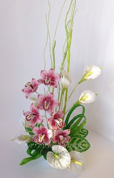 """Flower arrangement """"Flirting beauty"""""""