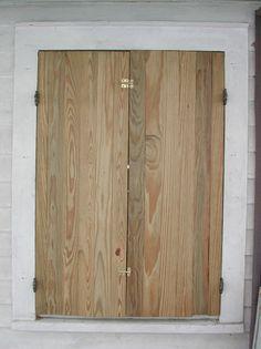 How to Install Hurricane Shutters -- via wikiHow.com